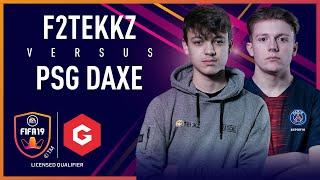 F2Tekkz vs PSG DaXe - Gfinity FIFA Series January LQE