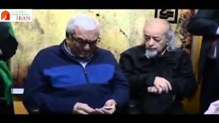 سخنرانی شور انگیز امیرانتظام در نمایشگاه محمد نوریزاد