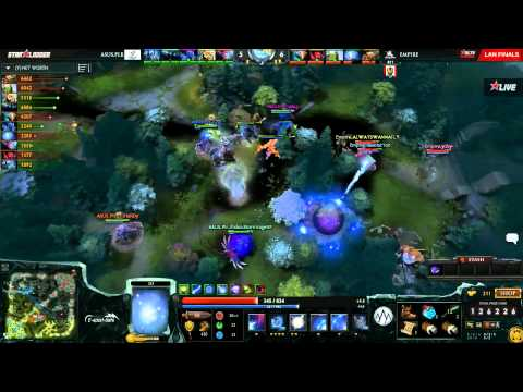 Empire vs Asus.Polar - Game 4 (Starladder XI LAN - Grand Finals) - Zyori & Godz