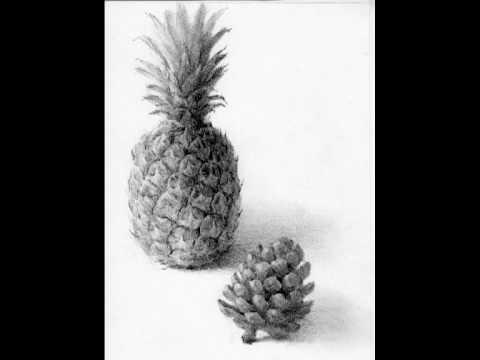 パイナップルのデッサン