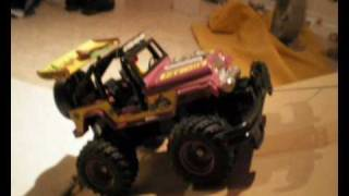 RC NIKKO TRONICO OLD SCHOOL RC JEEP TRUCK BIG GROLLY