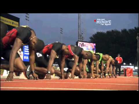 Men&#039;s 100 m Crystal Palace AVIVA London Grand Prix Diamond league 2011 final