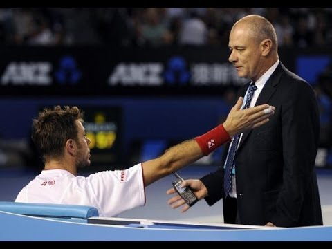 Stanislas Wawrinka FURIOUS & MAD over Medical Time-Out - Australian Open 2014 Finals