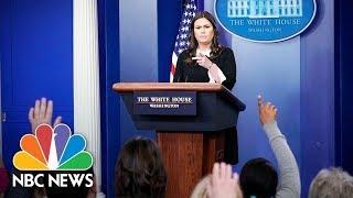 White House Press Briefing - April 23, 2018 | NBC News
