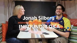 Leveraging Video in Sales and Marketing with Wistia's Jonah Silberg | Inbound18 AMA