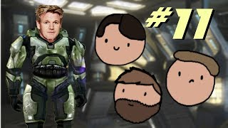 Some Loomin' Boys play HALO: CE - #11 - Hypothetically Yeeting Children