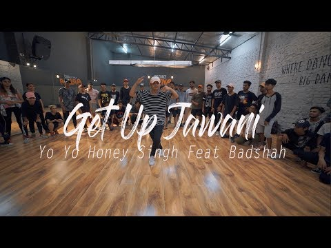 Get Up Jawani - Yo Yo Honey Singh Feat Badshah | Ankit Sati Choreography