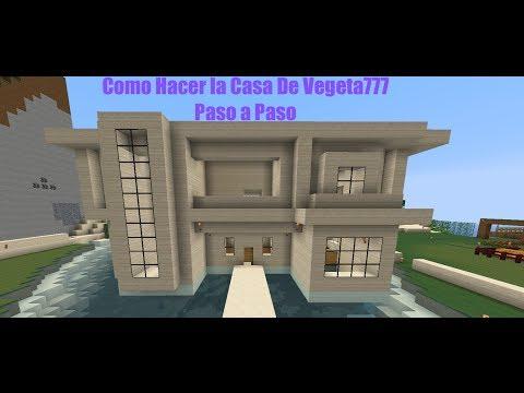 Como hacer la casa de vegetta777 paso a paso pt1 link for Como hacer una casa moderna y grande