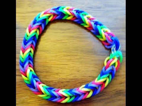 Bracelet elastique avec fourchette videolike - Comment faire un bracelet en elastique ...