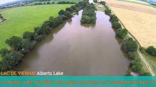 The Carp Specialist - Lac de Viennay - An aerial view
