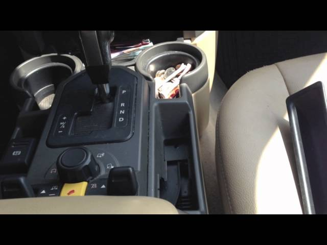 Land Rover LR3 Electric Parking Brake - YouTube