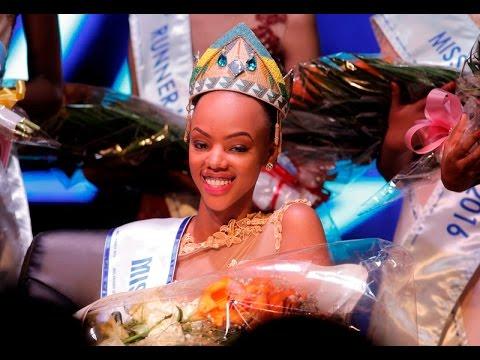Mutesi Jolly is Crowned Miss Rwanda 2016 (27th February 2016)