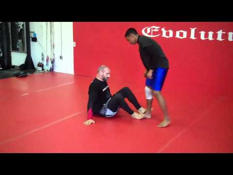 BJJ NoGi BUTTERFLY  GUARD SWEEP  and SUBMISSION Image 1