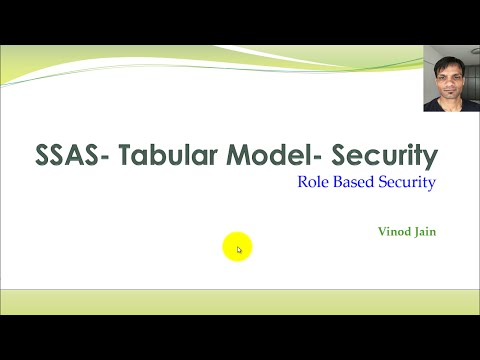 SSAS Tabular Model-Security-Part-1-Role Based Security