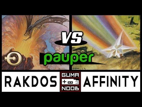 Pauper - RAKDOS CONTROL vs AFFINITY feat Magic Pauper BR