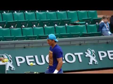 Rafael Nadal vs Andy Murray - Set practice 2016