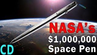 NASA's Million Dollar Space Pen vs The Soviet Pencils