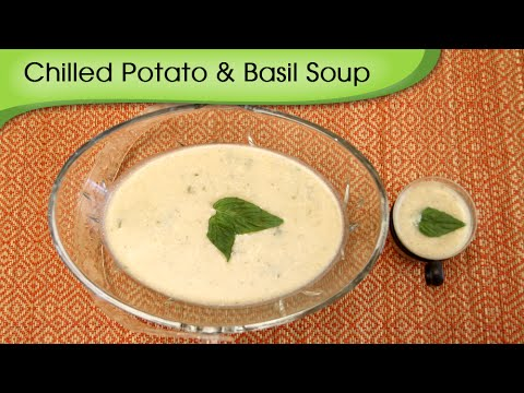 Chilled Potato And Basil Soup - Simple, ...