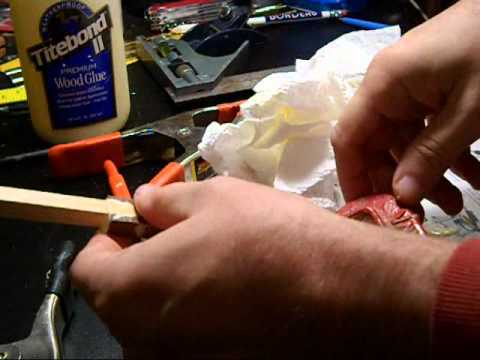 How to make Footed Arrow Shafts DIY