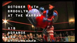 KAIJU BIG BATTEL LIVE! OCTOBER 14th BROOKLYN /OCTOBER 16th PHILADELPHIA