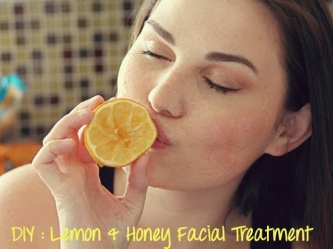 DIY | Lemon and Honey Facial Treatment For Glowing Skin