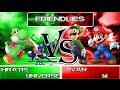 SSB4: Hratis (Yoshi) & Universe (Greninja) Vs Ivan (Luigi) & M (Mario)   Friendlies (38)
