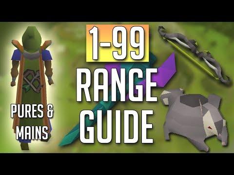 [OSRS] In-Depth 1-99 RANGE Guide (2018 Best Methods)