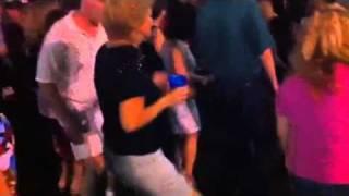 Cuban shuffle dance