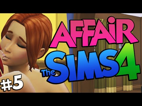 Sims 4 - SLUT CHEATS! Having an Affair on The Sims 4 (Sims 4 Funny Moments) #5