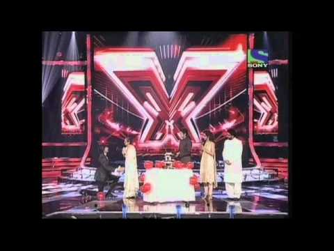 X Factor India - Sonu Nigams birthday bash on X Factor India...