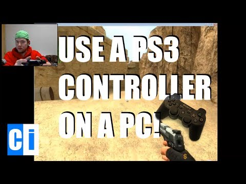 How to use PS3 Controller on PC