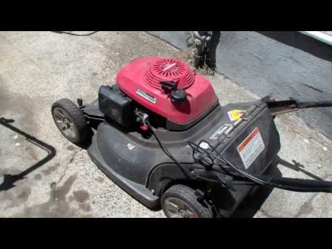 Honda hrb216 lawn mower repair. blade clutch. Alameda Repair Shop
