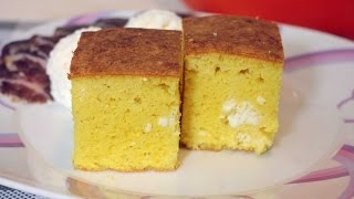 Proja sa sirom - Cornbread with cheese