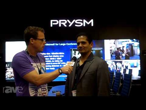Prysm's Amit Jain Talks to Gary Kayye About Partnering with Cisco and Green Display Technology