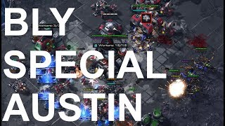 Bly (Z) v Special (T) on Lost and Found - StarCraft 2 - Legacy of the Void 2018