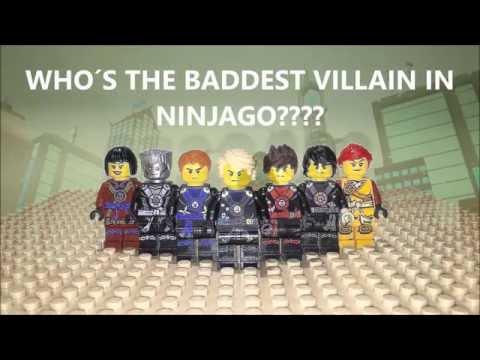 Lego Ninjago: Who's the Baddest Villain? Stop Motion Rebrick Contest Movie