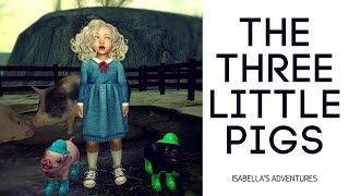 The three little pigs - a Second Life narration