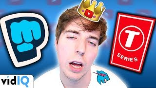 Mr Beast: The Smartest Man on YouTube? [PewDiePie Vs T-Series]