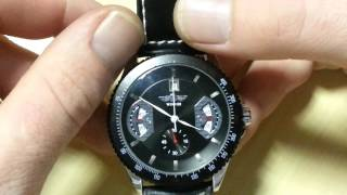 Winner Automatic Leather Sports Watch - Review
