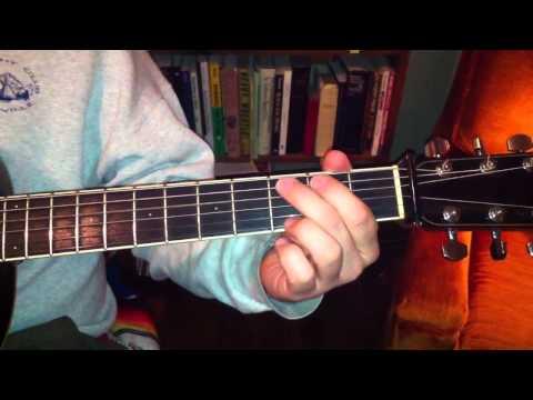 Lester Flatt Classic Bluegrass Lick over a G Chord