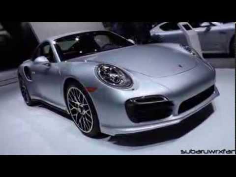 2014 Porsche 911 Turbo S At Detroit 2014