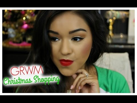 Get Ready With Me: Christmas Shopping   #12daysofchristmas Day 7