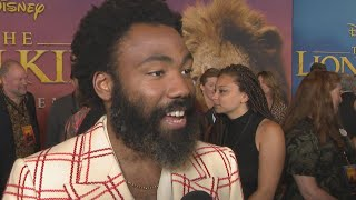 Donald Glover Admits His Son Is Excited to See 'Lion King' Because of BEYONCE (Exclusive)