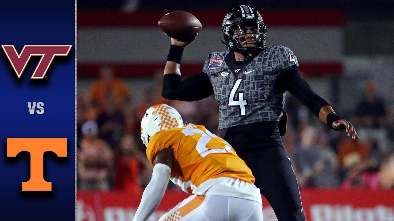 Virginia Tech vs. Tennessee Football Highlights