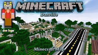 "Minecraft Map - ""Danville"" (PC Download)"