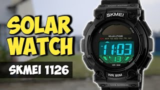 SKMEI 1126 SOLAR WATCH - REVIEW SETUP