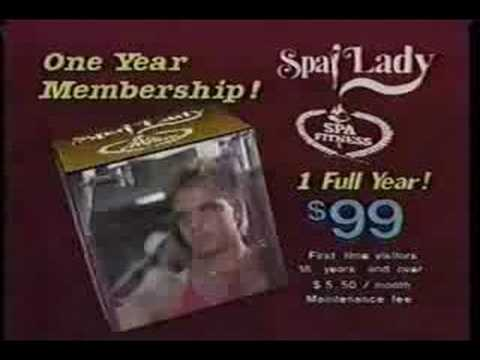 spa lady commercial