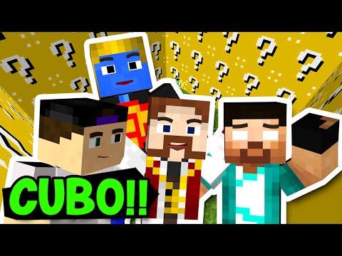 Minecraft: GUERRA NO CUBO!! LUCKY BLOCK EXPLOSIVO!! (c/ Rezende, Luiz e Afreim)