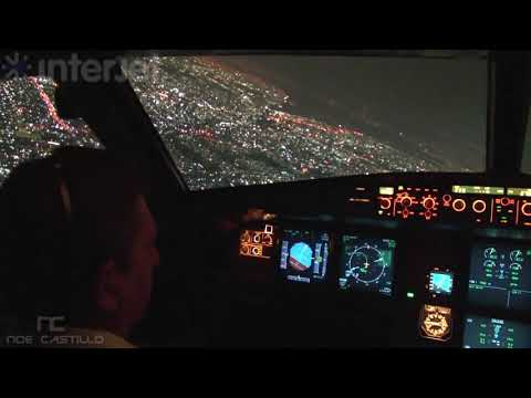 Interjet - Cabina Airbus A320 - Despegando del Aeropuerto de la Ciudad de Mxico
