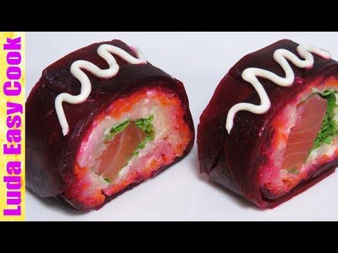 САЛАТ-РОЛЛ ШУБА ПО-НОВОМУ Новогодние салаты 2018 | Tasty Salad Recipes for New Year